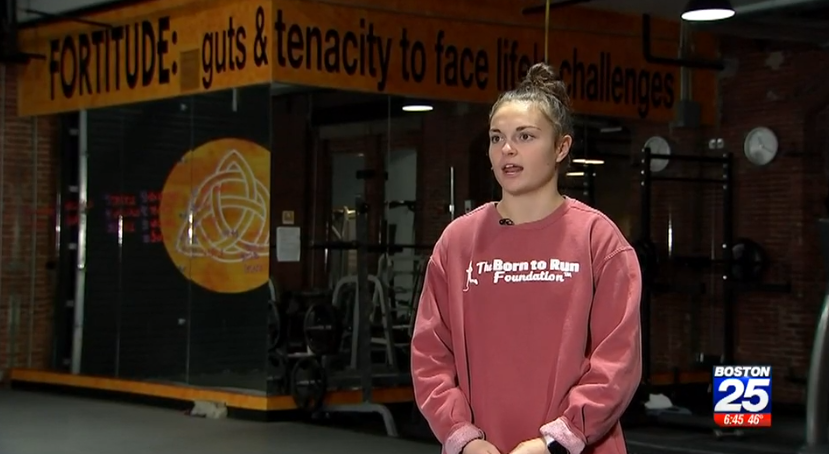 """Boston 25 News, """"Local Athlete Who Lost Leg Aims to Compete in Tokyo Paralympics"""""""