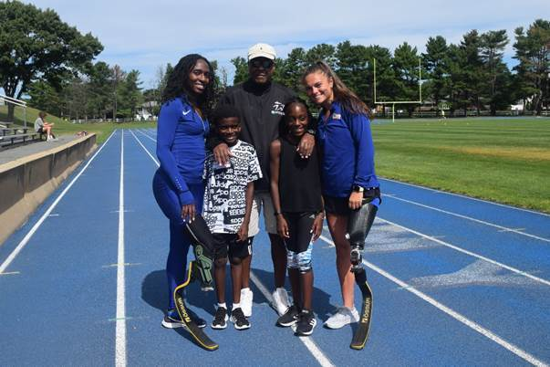 Two Local Para-Athletes, Noelle Lambert and Femita Ayanbeku, Train for Tokyo Paralympics and Join Forces to Help Other Young Amputees
