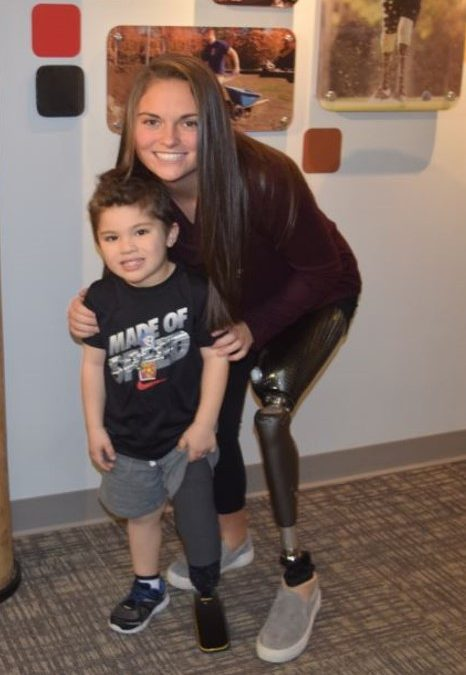 Meet Isaak Depelteau, Recipient of The Born to Run Foundation's 1st Donation